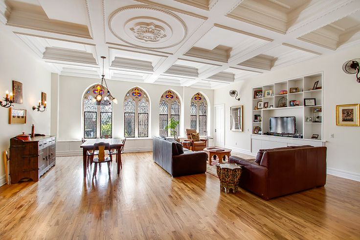 Buy a Converted Church in Manhattan Photos | Architectural Digest
