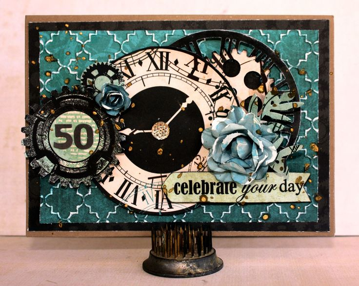 "Celebrate Your Day - Kaisercraft ""Time Machine"" - Scrapbook.com"