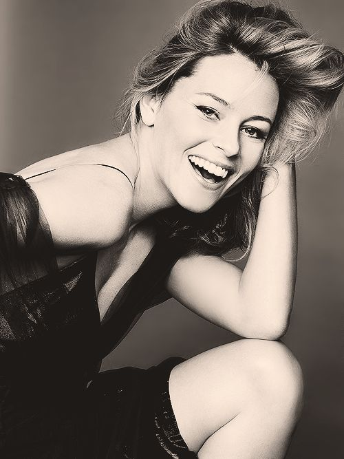 Elizabeth Banks; smart, hilarious and beautiful.
