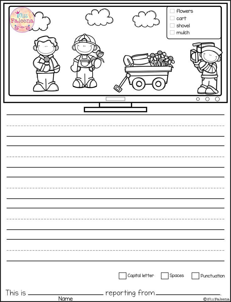March Writing Picture Prompts contains 30 pages of picture prompts worksheets. This product is suitable for kindergarten and first grade students. Children are encouraged to use thinking skills by becoming news reporter while improving their writing skills throughout the month. Kindergarten | Kindergarten Worksheets | First Grade | First Grade Worksheets | Picture Prompts | Writing Prompts | Picture Prompts Worksheets | Picture Prompts Literacy Centers | Kindergarten Writing