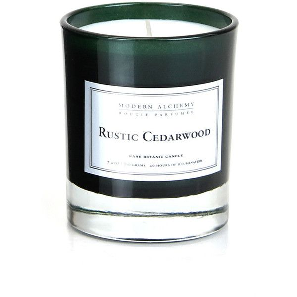 DL&Co L'Homme Collection Candle - Rustic Cedarwood ($24) ❤ liked on Polyvore featuring home, home decor, candles & candleholders, green, fragrance candles, rustic home decor, rustic home accessories, rustic candles and cedar scented candle