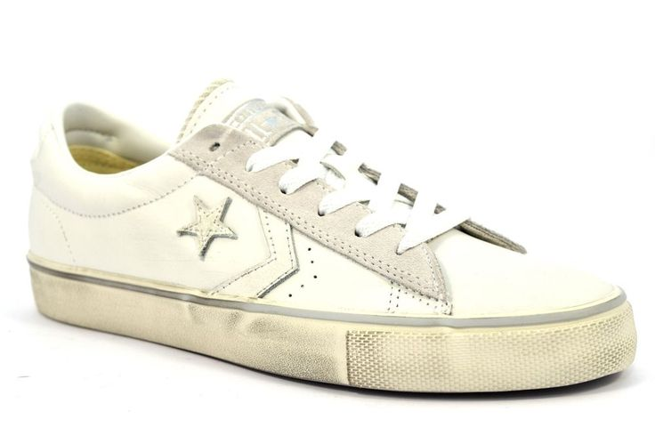 CONVERSE ALL STAR 152720C PRO LEATHER BIANCA Sneakers Stella Unisex Donna Uomo