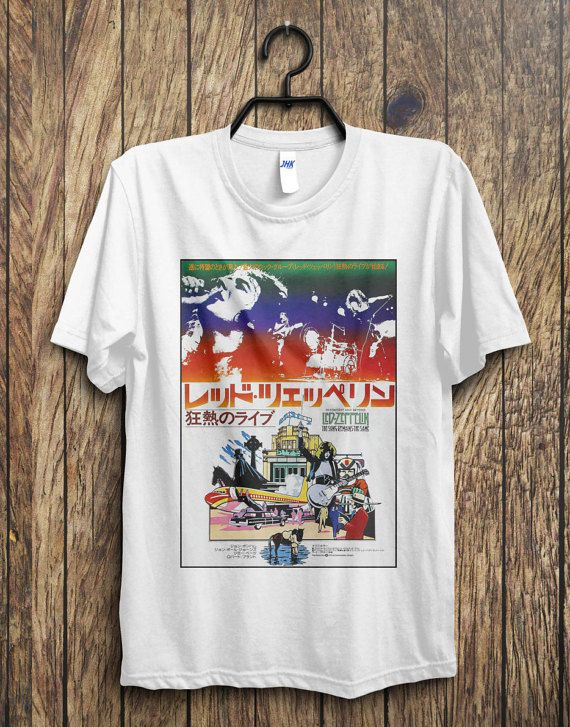 179f93965 Led Zeppelin Japan Tour T-Shirt, Led Zeppelin, Jimmy Page, Robert Plant,  Stair… | Tshirt | Tour t shirts, Shirts, Pink floyd