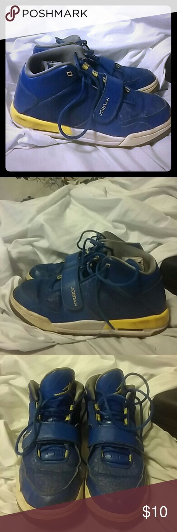 Nike Youth Jordan Flight Club Basketball Shoes 6Y 602662-489 SZ 6Y. Some marks on shoes, need cleaning Nike Shoes Sneakers