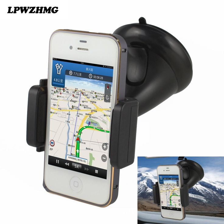 New Universal Car Cell Phone Holder Windshield Sucker Type Mobile Holder Support Telephone Voiture for Smartphone Phone Gps