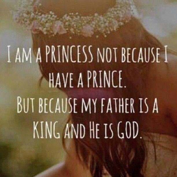 Princess God is my father