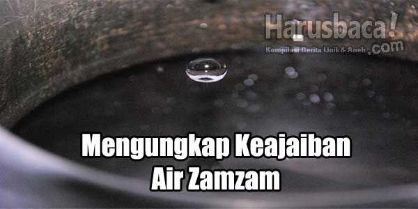 Mengungkap Keajaiban Air Zam Zam, Memang Sangat Luar Biasa! http://goo.gl/iuxYki