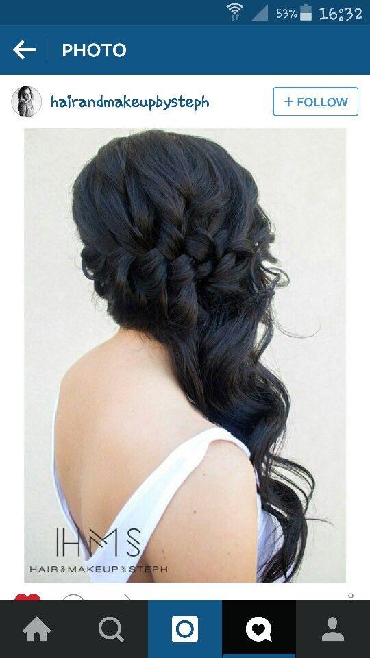 Wedding hair | BODA | Pinterest | Weddings, Hair style and