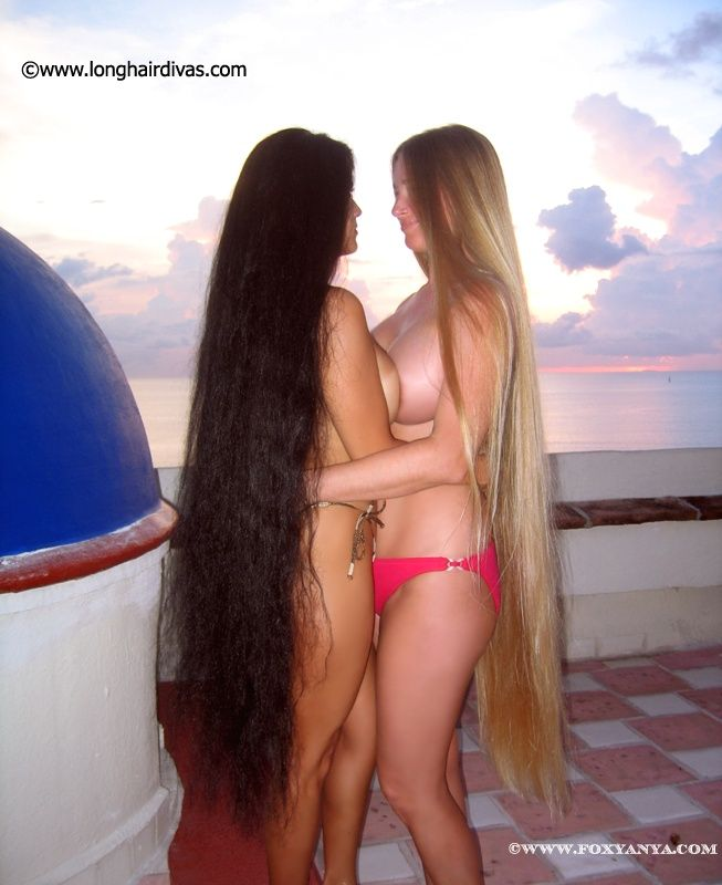 Love long hair photos anya and leona good