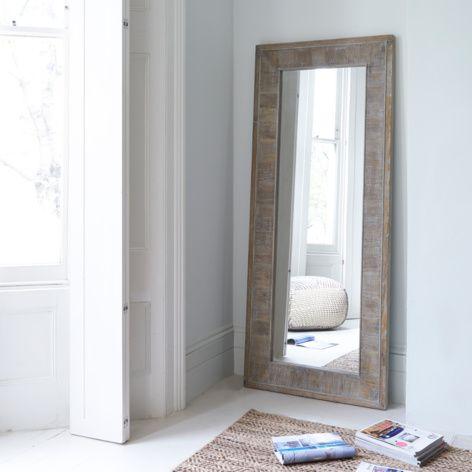 Tall Flotsam wooden handmade full length mirror