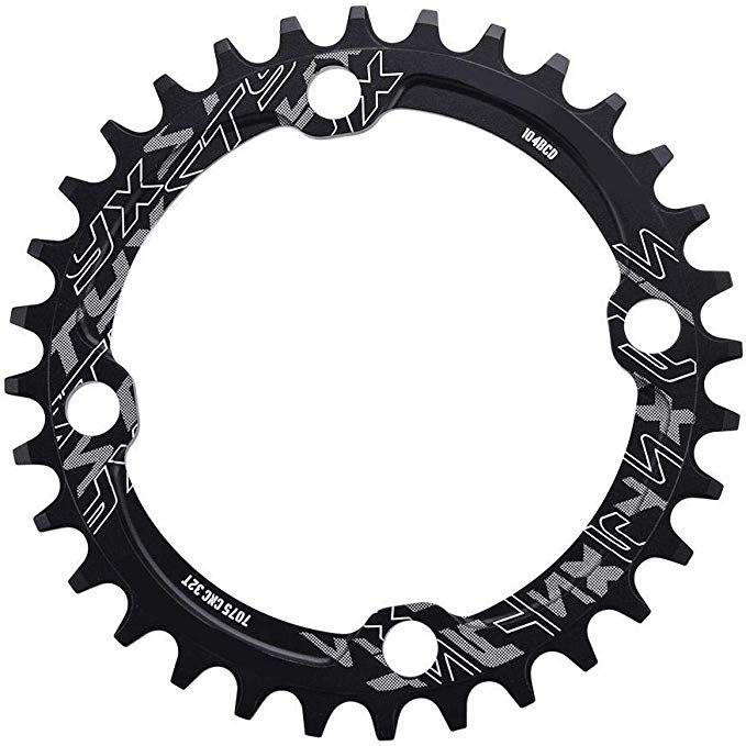 Dioche Bike Chainring 32 34 36 38t Bcd 104 Mountain Bike Single