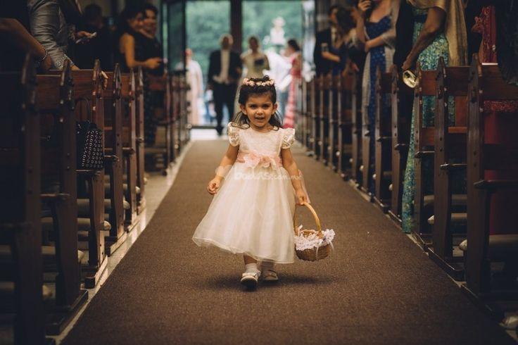 El rol de los pajes y damas de honor en la boda - bodas.com.mx
