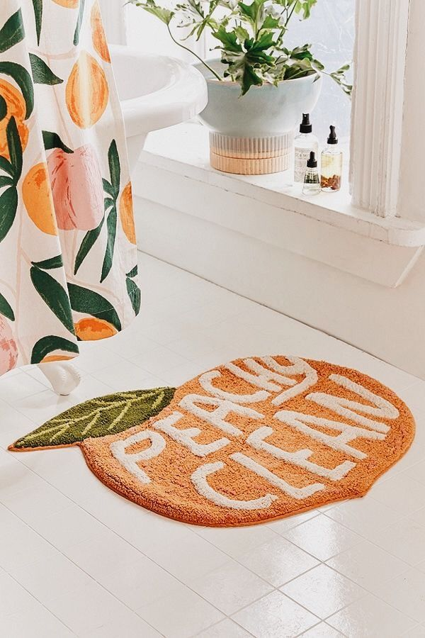 if we don't have a bath mat like this then why are we even decorating lol