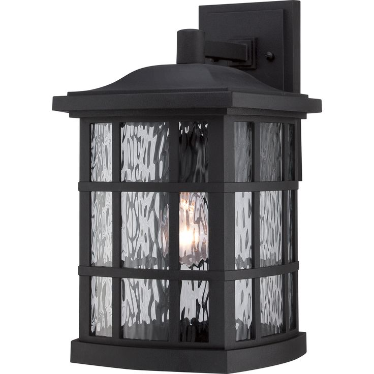 Quoizel|SNN8409K|Outdoor wall mystic black