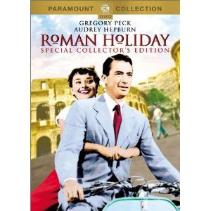 Roman Holiday (Special Collector's Edition)Film, Romans Holiday, Romanholiday, Audrey Hepburn, Audreyhepburn, Holiday 1953, Gregory Peck, Favorite Movie, Roman Holiday