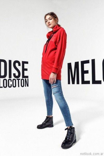 outfit sporty chic otoño invierno 2017 - Melocoton