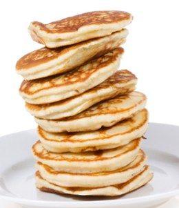 Min stora feta matblogg: Amerikanska pannkakor