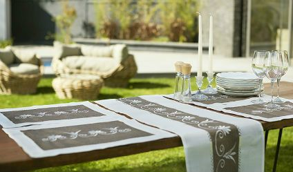 Camino Real Café. Visítanos en tuakiti.com #camino #tablerunner #decoracion #homedecor #hogar #home #comedor #diningroom #real #royal #tuakiti