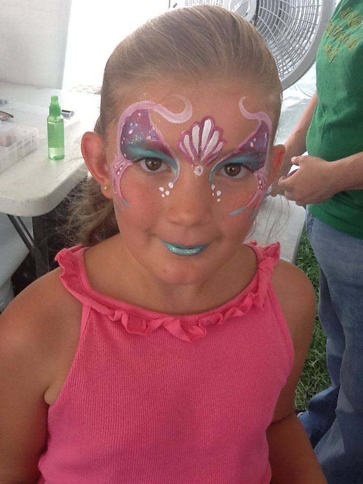 152 best Face painting: Under the sea images on Pinterest ...