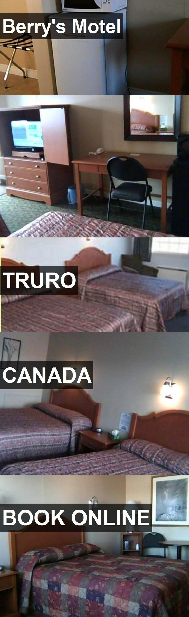 Hotel Berry's Motel in Truro, Canada. For more information, photos, reviews and best prices please follow the link. #Canada #Truro #travel #vacation #hotel