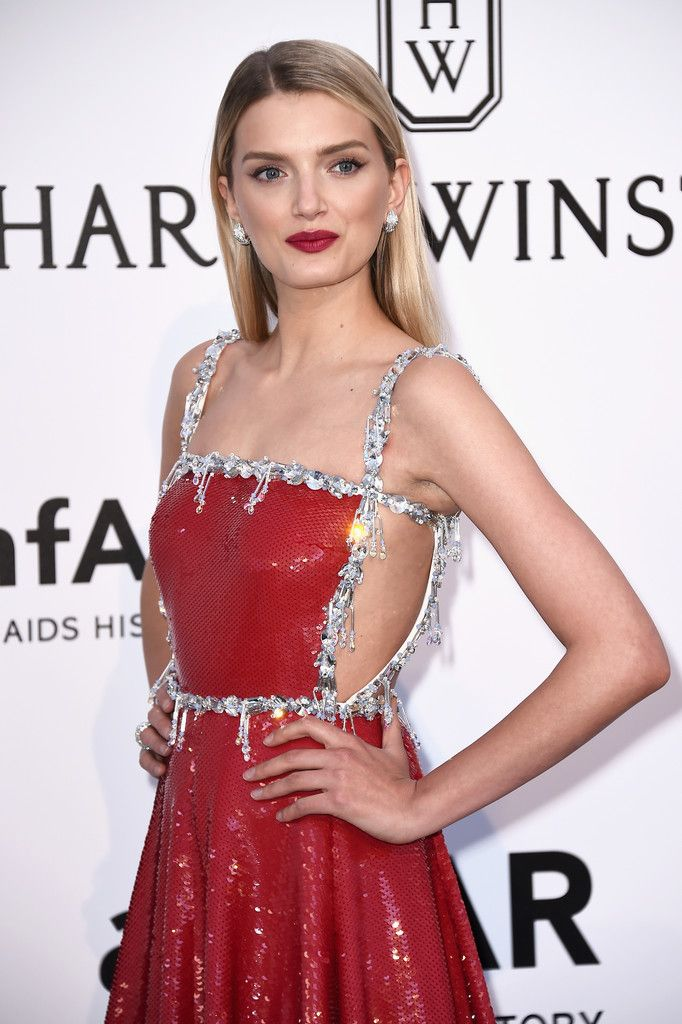Lily Donaldson in Prada gown with #Bulagri jewels  - amfAR's 23rd Cinema Against AIDS Gala