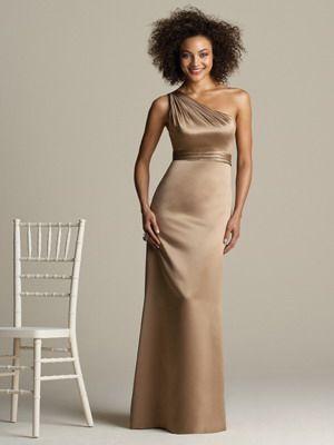 mocha bridesmaid dresses   Brown Bridesmaid Dresses   Formal, Evening, Prom Dresses Trends 2012 ...