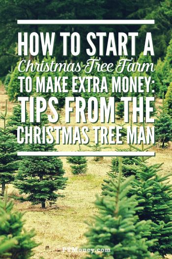 Need a fun way to make extra money? Find out if a Christmas tree farm is right for you! Read PT's interview with a 40 year Christmas tree farm veteran. http://ptmoney.com/start-christmas-tree-farm/