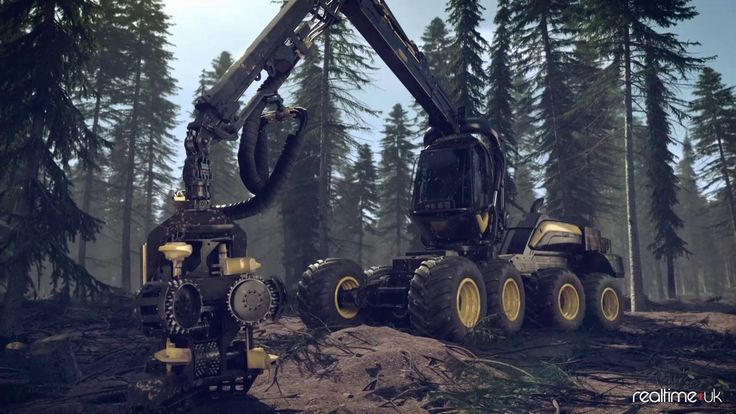 Farming Simulator 2015 Tree FX Breakdown/Demo on Vimeo