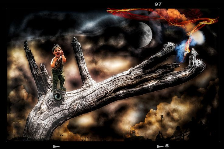 The Dragon Slayer: By PhotoArt By Athol