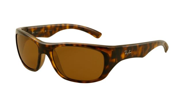Ray Ban RB4177 Sunglasses Light Havana Frame Brown Polarized Len