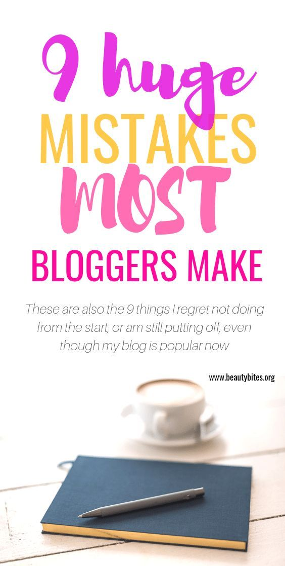 9 Things I wish I had done when I started my blog – Write It Down