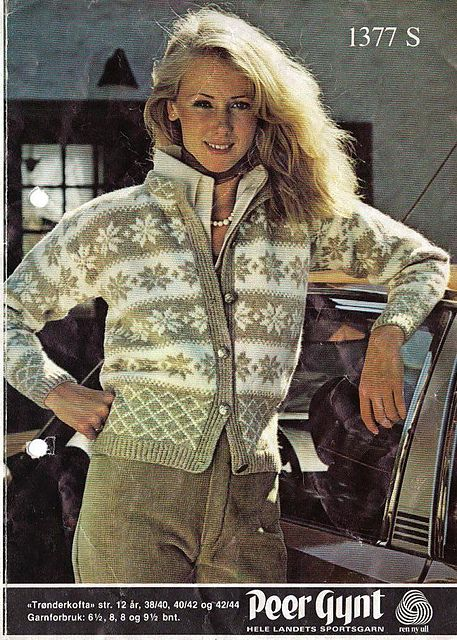 Trønderkofte pattern by Sandnes Design Free pattern Go to; pinterest.com/... for 2500 and more FREE knit patterns