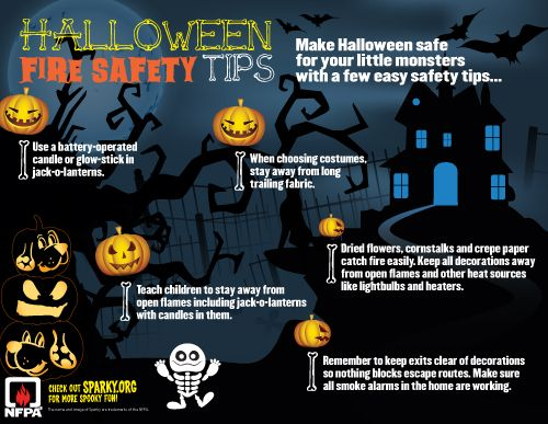 halloween fire safety tips from nfpa - Halloween Tips