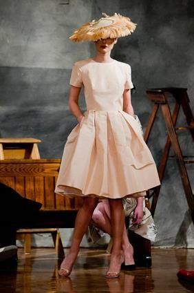modest and elegant dress by VASSILIS ZOULIAS