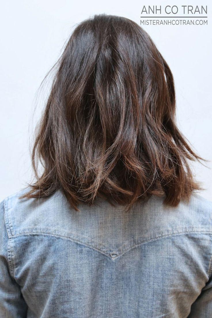 Mister AnhCoTran: LA: CHEST LENGTH HAIR TO SHOULDER LENGTH AT RAMIREZ TRAN