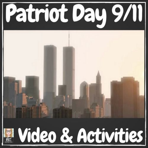 September 11th Patriot Day Video Activities Kit Patriots Day