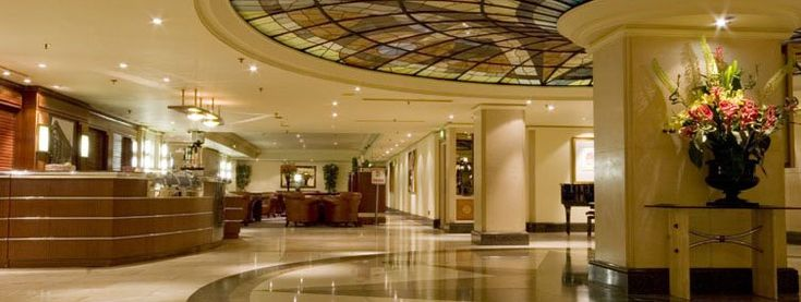 Thistle Hotel, Marble Arch, London.  This is where I stayed on my first trip to London. It's a beautiful hotel with Art Deco appointments and lovely rooms.  I would stay there again in a heartbeat.