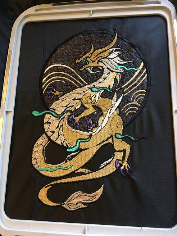 Dragon Cosplay Embroidery Inspired By Akali Kda Star Art Cosplay Nerd Decor