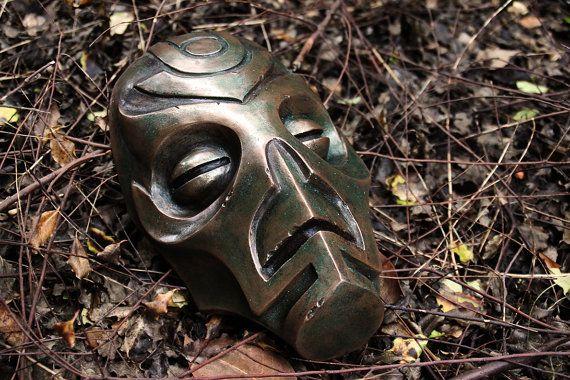 Skyrim Dragon Priest Mask Prop Replica
