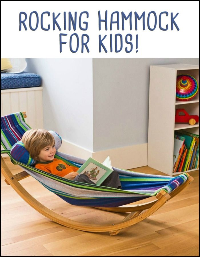 There's nothing quite like kicking back in a hammock, and now little ones can delight in that comfort in any space!