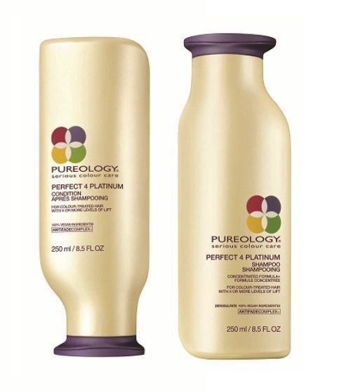 Shampoos and Conditioners: Pureology Perfect 4 Platinum Shampoo And Condition Set, 8.5 Oz. Each - Free Ship -> BUY IT NOW ONLY: $30.99 on eBay!