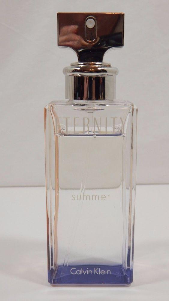 Eternity Summer 2015 Perfume by Calvin Klein 3.3 / 3.4 oz / 100ml EDP SPR Tester #CalvinKlein