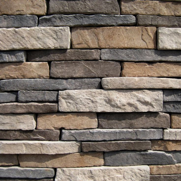 builddirect black bear pallets stone southern stacked stone - Faux Stone Veneer