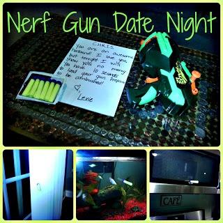Nerf Gun Date Night