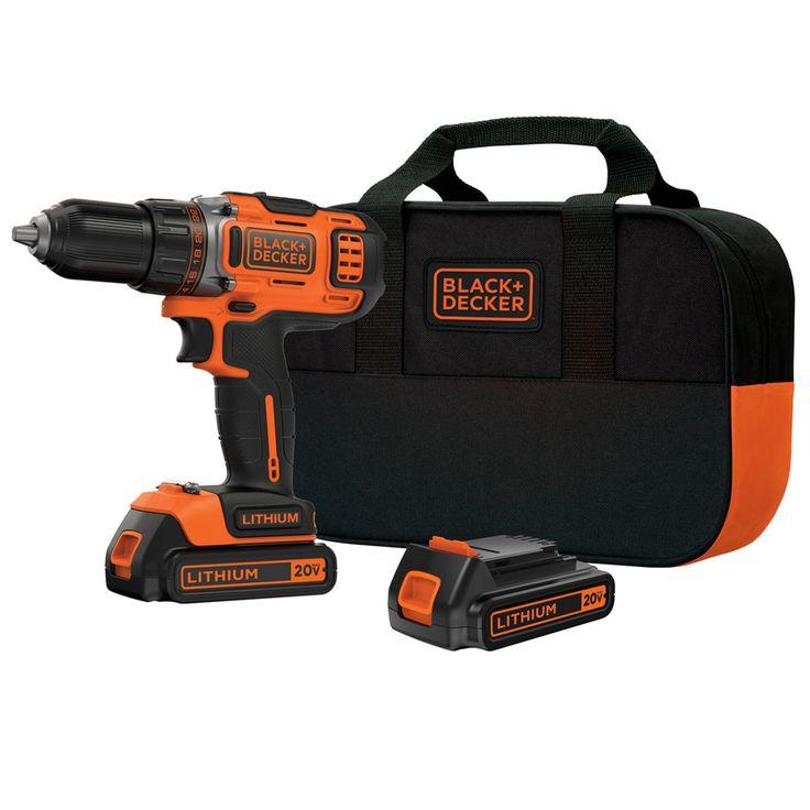 Blackdecker 20volt max 12in cordless drill 2