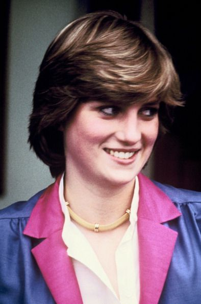 Portrait Of Diana Frances Spencer In The Seventies