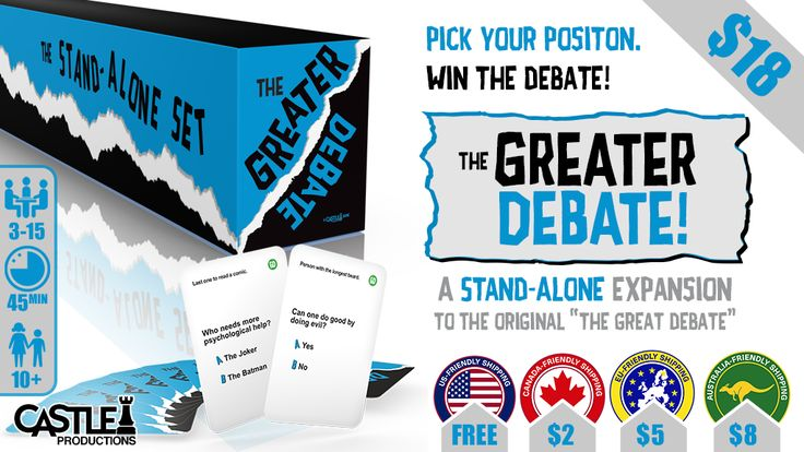 """The Greater Debate"" Review: A Social Game of Defending Your Views -"