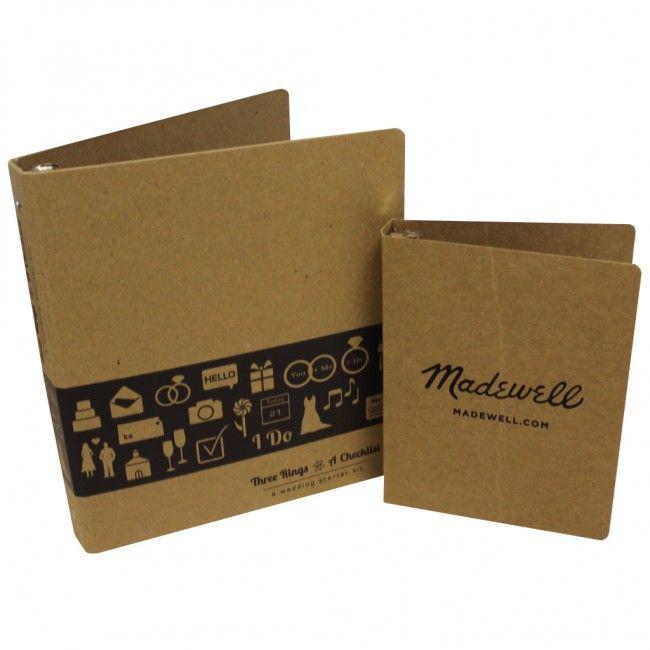 Rigid or Flexible Eco-Friendly Custom Printed Binders