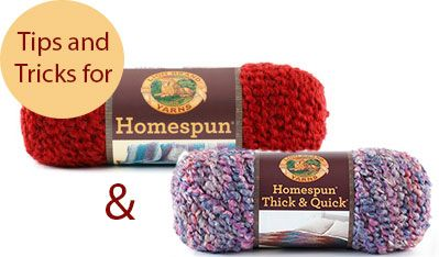 Tips and Tricks Using Homespun and Homespun Thick [not really helpful; but, I'm desperate for help on this--I'll take what I can get.]