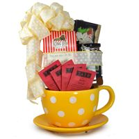 Tea Basket for a loved one this Valentine's Day  #LuckyCloverContest